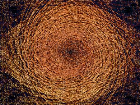 Circular abstract shape