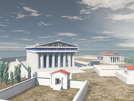 Acropolis of Athens in antiquity