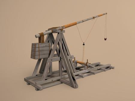 Medieval trebuchet