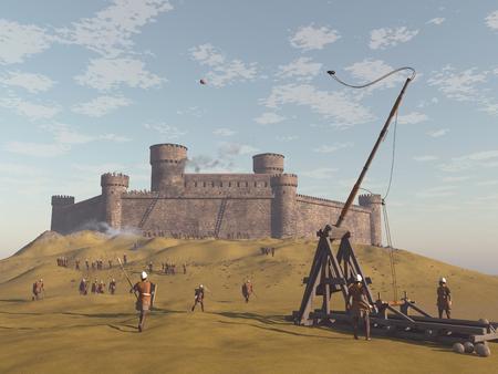 Besieged castle