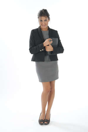 Self confident female young business executive looking at camera Stock Photo - 14429496