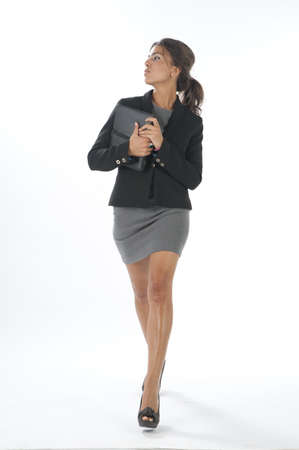 Self confident female young business executive looking a side. Stock Photo - 14429576