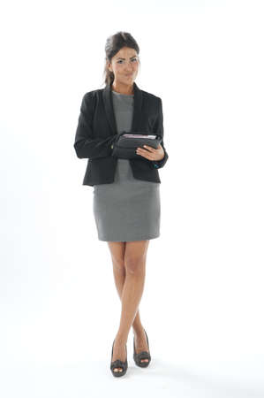 Self confident female young business executive looking at camera Stock Photo - 14429472