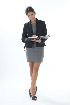 Self confident female young business executive looking at camera Stock Photo - 14429546
