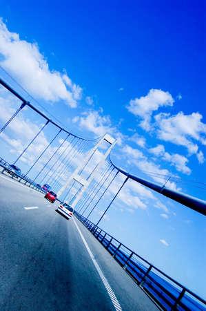 Bridge in Svendborg in Denmark