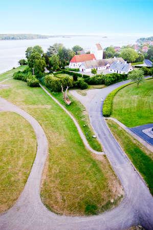 View of Svendborg town in Denmark