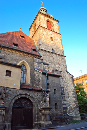 the old church: Old church in Kutna Hora, Czech Republic Stock Photo