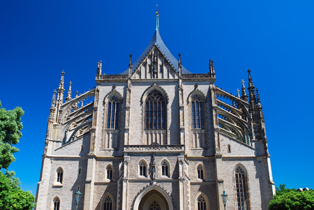 unesco in czech republic: St  Barbaras Cathedral or The Cathedral of the Holy Virgin Barbara, Kutná Hora