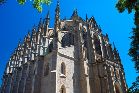 St  Barbaras Cathedral or The Cathedral of the Holy Virgin Barbara, Kutná Hora photo