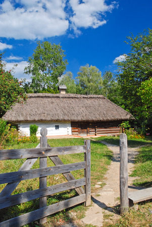 Traditional Ukrainian hut, Museum of Folk Architecture and Lifestyle of Ukraine (Pirogiv)