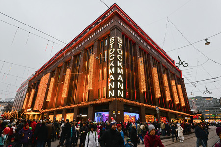 flagship: Shoping mall Stockmann in Helsinki city center