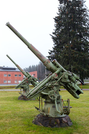 flak: Old antiaircraft guns, Tuusula