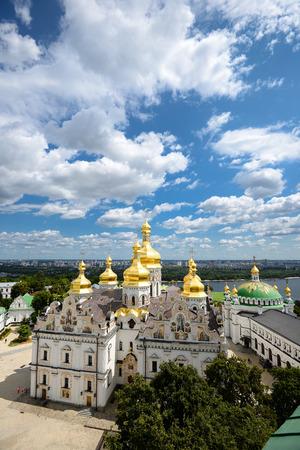 lavra: View of Assumption Church, Lavra, Kiev, Ukraine Stock Photo