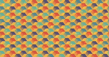 cubic: Bright cubic background