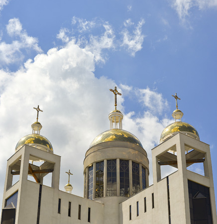 patriarchal: Greek-Catholic Church Patriarchal Cathedral of the Resurrection Christ, left bank of the Dnieper, Kiev Ukraine