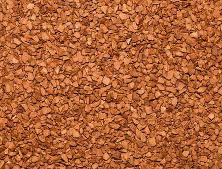 granules: Instant coffee granules background.Food or drink background