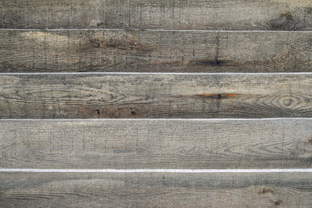 A wooden texture for a background or a mockup. Old gray wood texture close up. Barn wall texture or rustic fence Light gray flat wood banner billboard or signboard Standard-Bild - 102456811