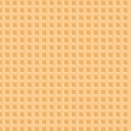 Vanilla Wafer Background : Vector Illustration  イラスト・ベクター素材