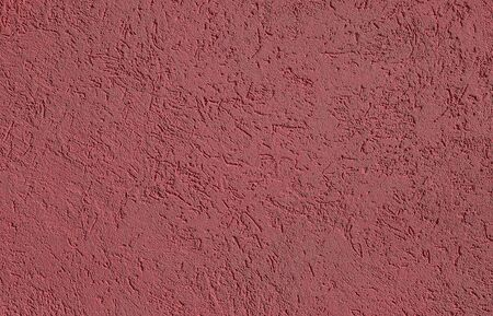 Burgundy red Textured cement or concrete wall background. Deep focus. Mock up or template for modern design.