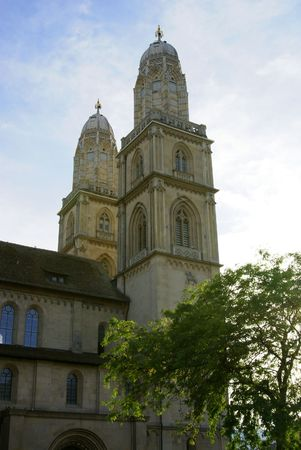 The main cathedral in Zuerich - Grossmuenster