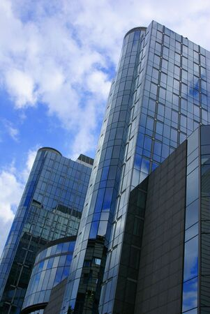 Glass skyscraper