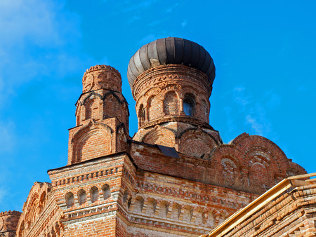 Dome of the church St. Paraskevinsky. Russia