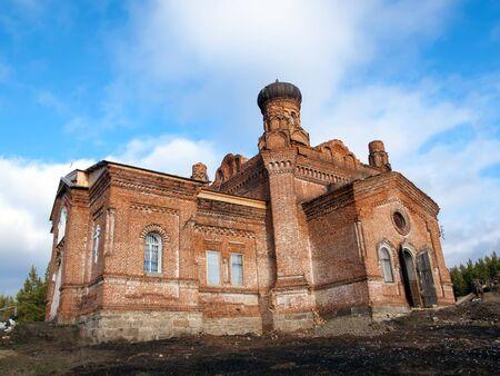 Stone Temple St. Paraskevinsky. Russia
