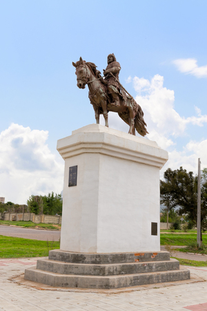 swindler: Elista, Russia - September 21, 2016: Monument Ubushiyev Khan