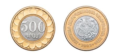 Coin 500 drams. Armenia. 2003