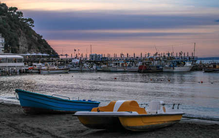 Fishing Harbor in Sorrento