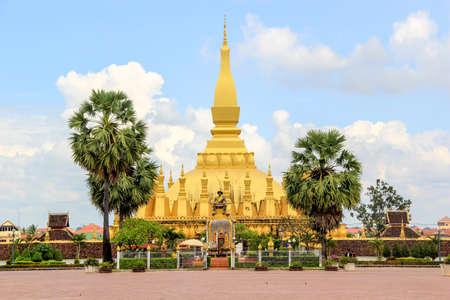 that: Pha That Luang in Laos