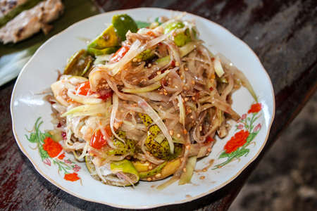 slatternly: Yummy Papaya Salad