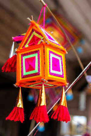 amulet: Tribal amulet at Chiang Khan, Loei Thailand Stock Photo