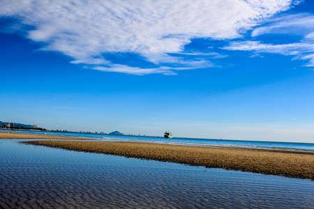 hua hin: sea, sky & sand at Hua Hin, Prachuap Khiri Khan, Thailand