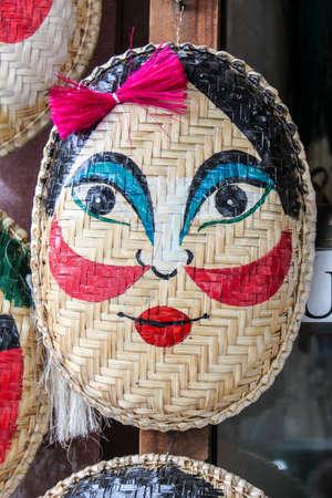 guise: funny mask Stock Photo