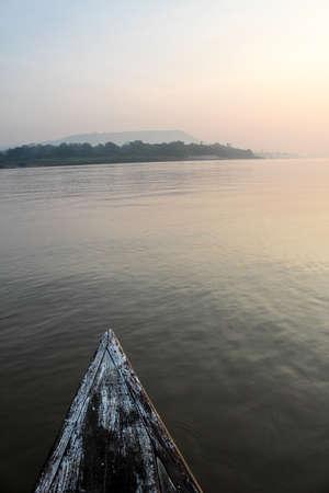 rivulet: Morning sunshine Mekong view at Khong Chiam