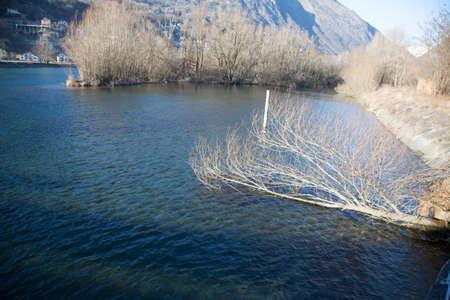Lago crevoladossola Stock Photo