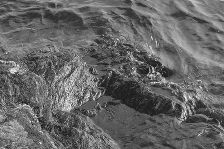Marine waves close up. Imagens