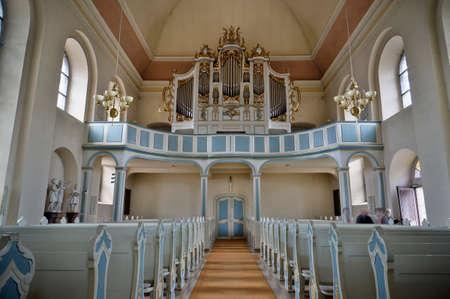 evangelical: Evangelical Church in Bad Arolsen, Hesse, Germany
