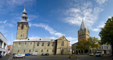 soest: St  Patroclus Cathedral and St Peter, North Rhine-traps, Germany, Soest
