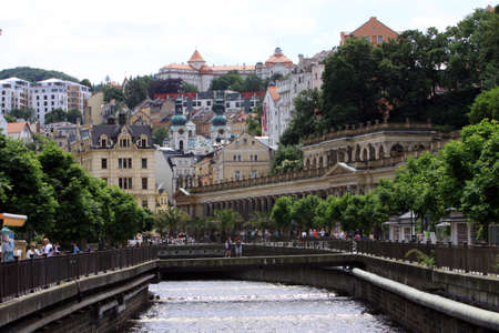karlovy: Karlovy Vary, Czech Republic Stock Photo