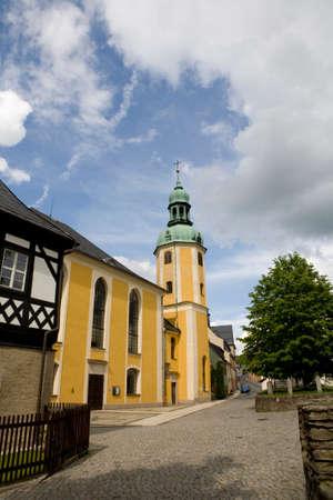 saxony: St Bartholomews Church, Saxony, Germany, Selva