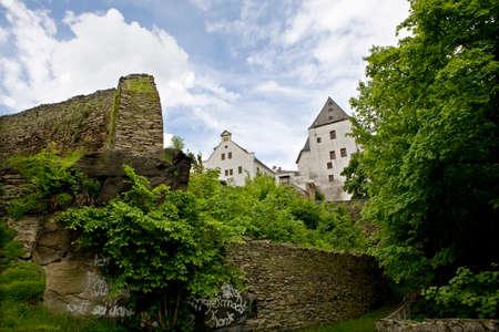 saxony: Wolkenstein Castle, Saxony, Germany