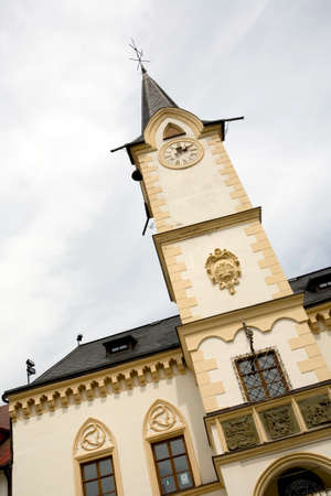 old town townhall: historic Town Hall, Ostrov, Czech Republic