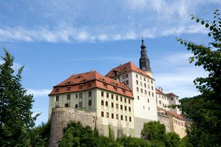 saxony: Weesenstein, Mueglitztal, Saxony, Germany
