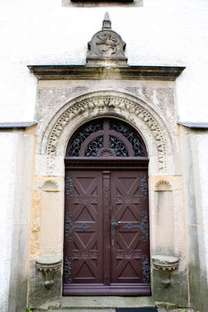 saxony: Church Lauenstein, Altenberg, Saxony, Germany Stock Photo