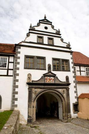 saxony: Schloss Lauenstein, Altenberg, Saxony, Germany Stock Photo