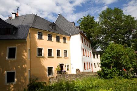 saxony: Schlettau Castle, Saxony, Germany Editorial