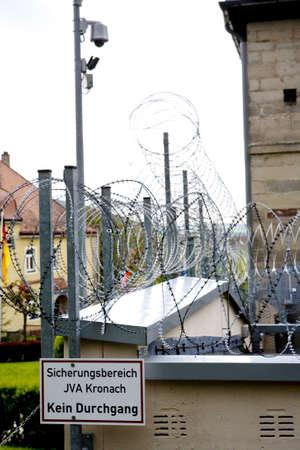correctional: Correctional facility, Bayer, Germany, Kronach Stock Photo