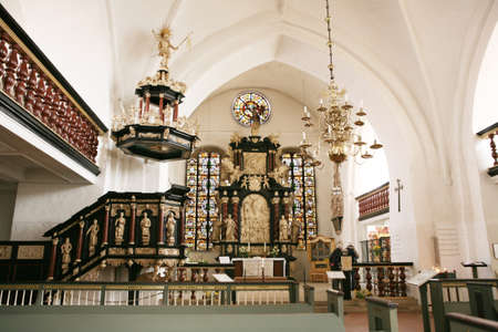 high altar: High altar in the church of St Cosmae and Damiani Editorial